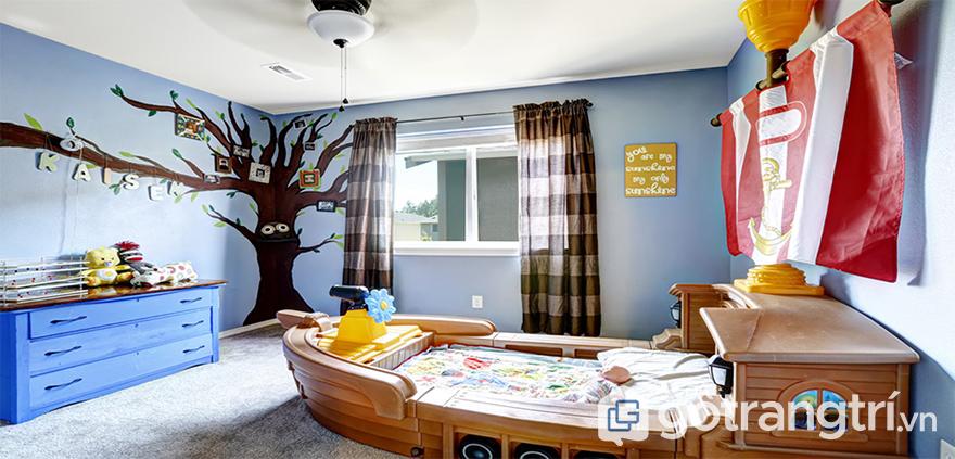 ý nghĩa phòng ngủ cho trẻ em