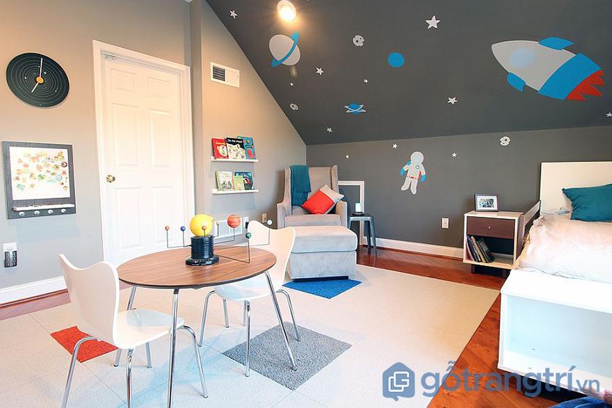 Phòng ngủ cho trẻ em độc đáo