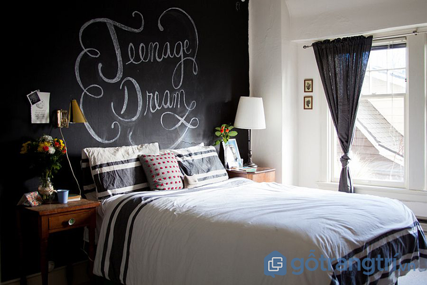sơn phòng ngủ theo phong thủy
