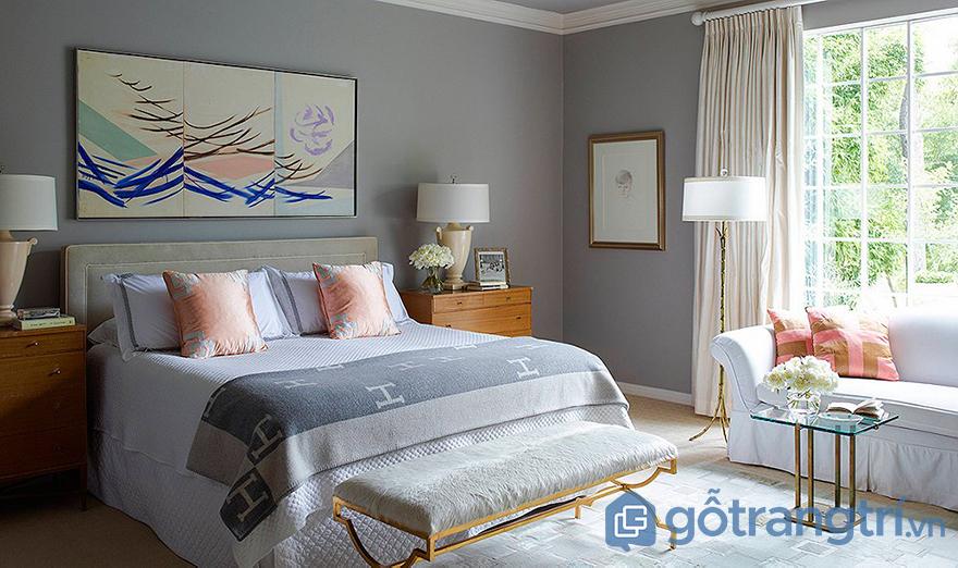 sơn phòng ngủ đẹp hài hòa