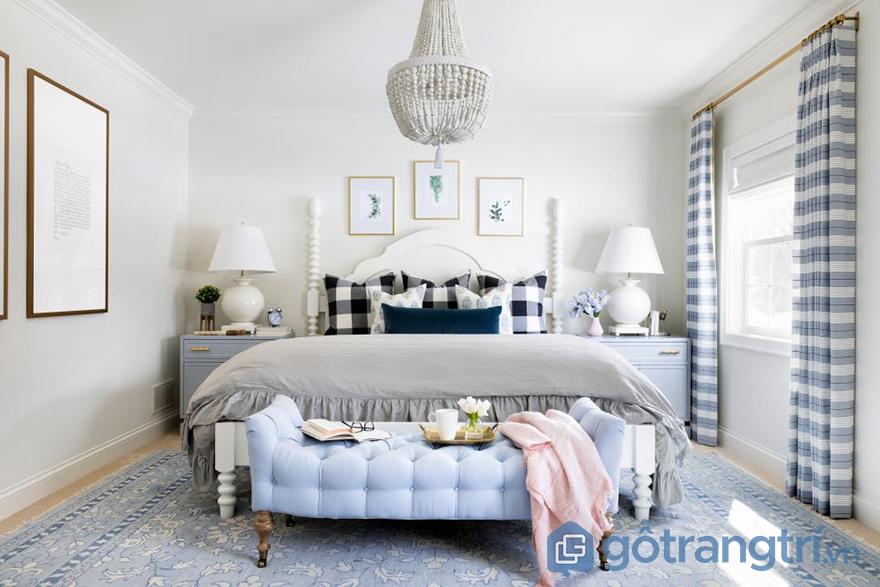 sơn phòng ngủ đẹp ấn tượng