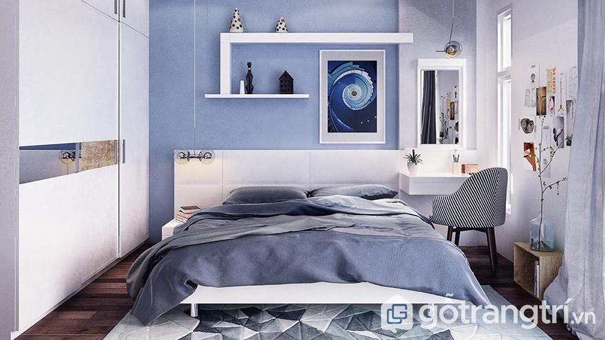 sơn tường phòng ngủ có độ bền cao