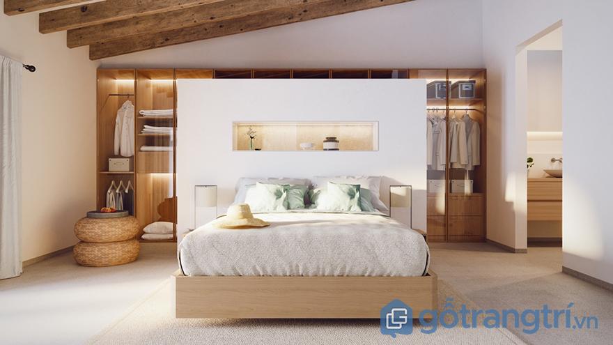 sơn tường phòng ngủ tinh tế