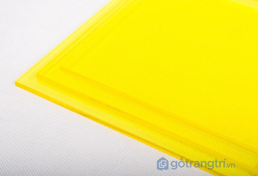 Tiêu chuẩn đánh giá chất lượng tấm acrylic - ảnh internet