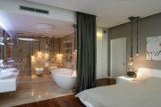 """5 nguyên tắc """"vàng"""" trong thiết kế phòng ngủ có nhà vệ sinh"""