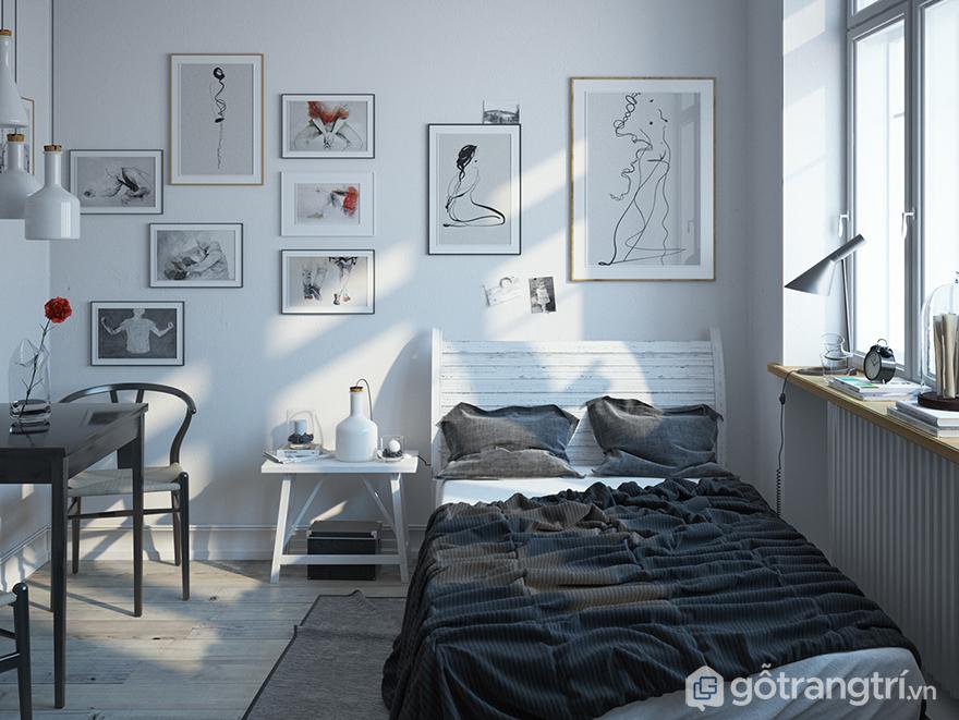 thiết kế phòng ngủ hiện đại đẹp