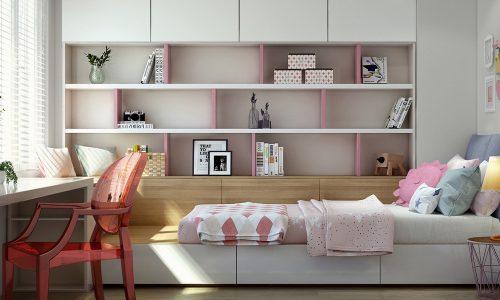 """5 ý tưởng thiết kế phòng ngủ nhỏ 10m2 """"độc nhất vô nhị"""""""