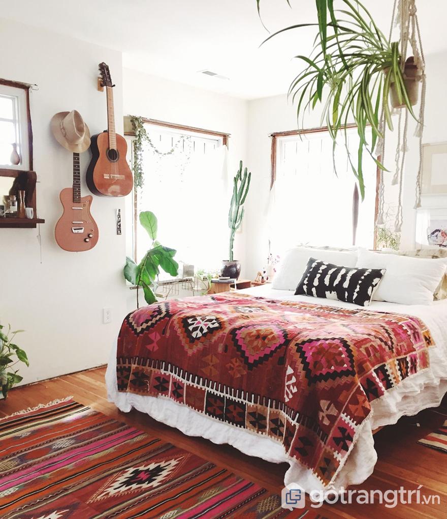 Thiết kế phòng ngủ 5m2 mang dấu ấn Tropical