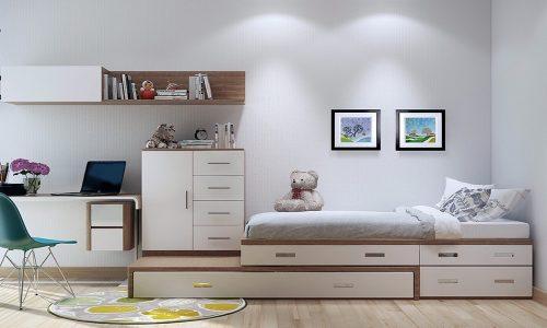 Làm thế nào thiết kế phòng ngủ nhỏ 9m2 đẹp ấn tượng?