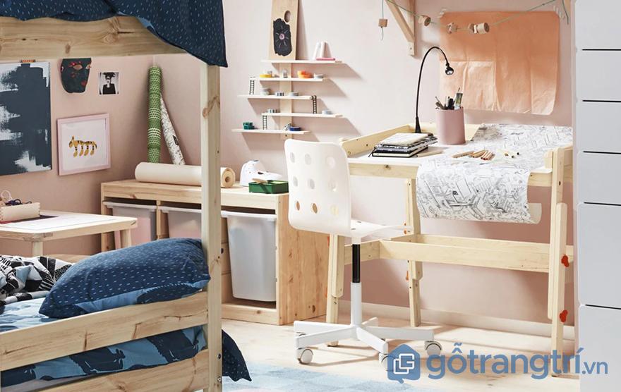 Thiết kế phòng ngủ nhỏ 9m2 dễ thương