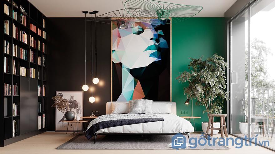 trang trí tường phòng ngủ đẹp