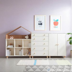 Tủ trang trí phòng khách tiện lợi giá rẻ GHS-5674