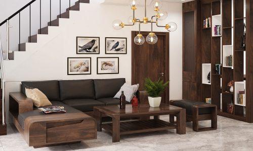 10+ mẫu ghế sofa gỗ đơn giản cho phòng khách hiện đại, xu hướng 2019