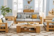 Làm thế nào để tính toán kích thước ghế sofa gỗ cho phù hợp?