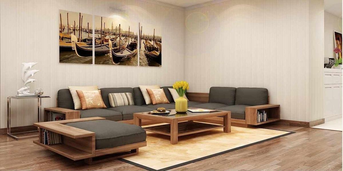 5 lý do kinh điển khuyên bạn nên chọn sofa gỗ óc chó cho phòng khách