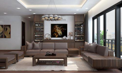 5 lợi ích không thể bỏ qua khi thiết kế nệm ghế sofa gỗ