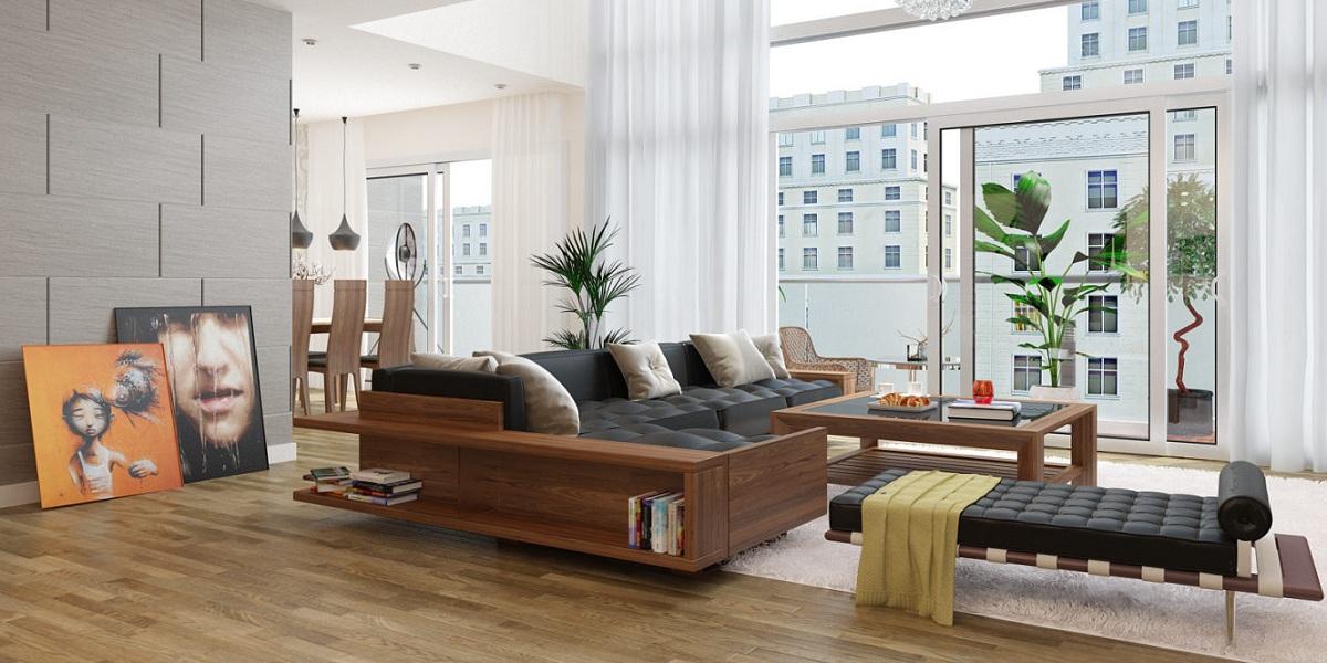 BST mẫu ghế sofa gỗ đẹp dành cho phòng khách chung cư 2019
