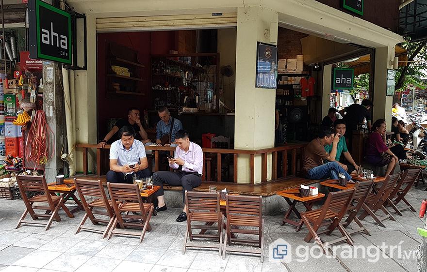 cách mở quán cà phê