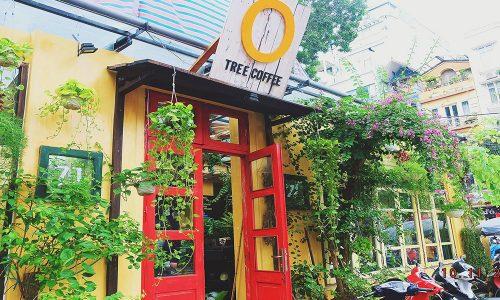 Trang trí cổng quán cà phê đẹp - nhìn thôi đã muốn vào