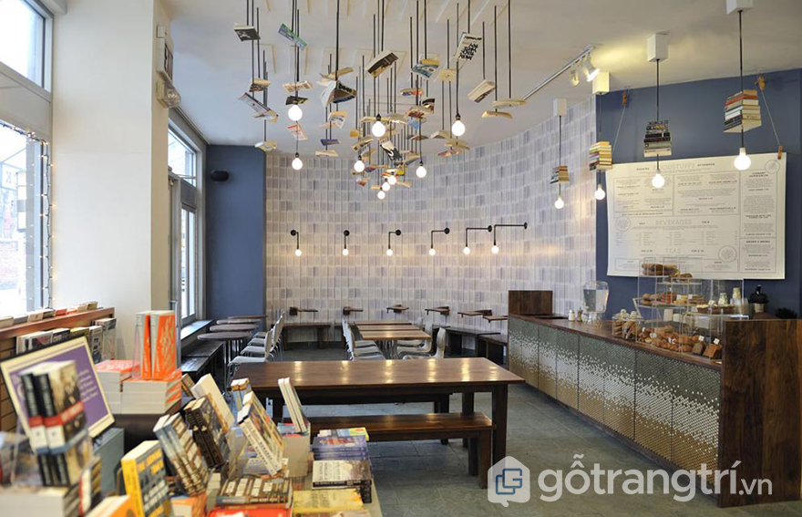 đèn trang trí quán cà phê