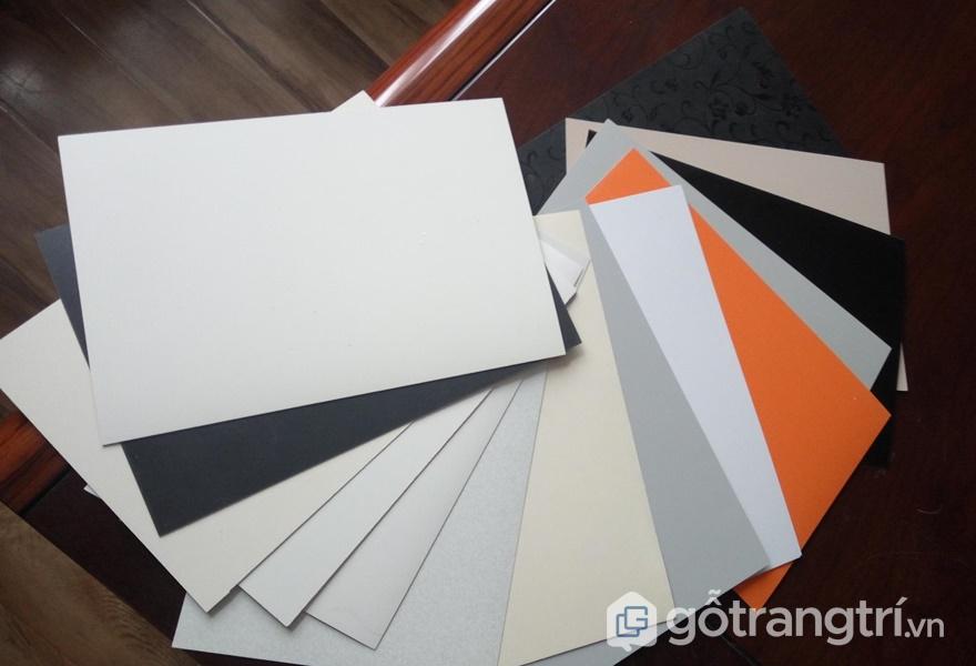 Nhựa laminate có nhiều ưu điểm vượt trội - ảnh internet