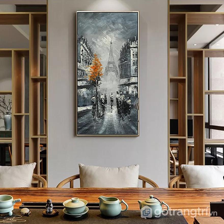 tranh tường quán cà phê