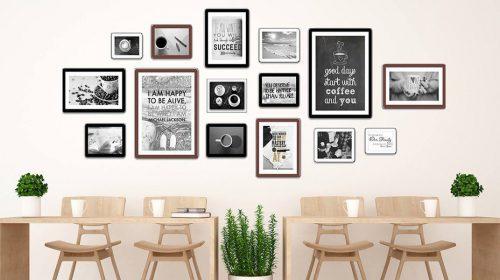 Tranh tường quán cà phê - Giải pháp trang trí hiện đại, tinh tế