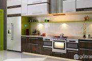 tủ bếp laminate