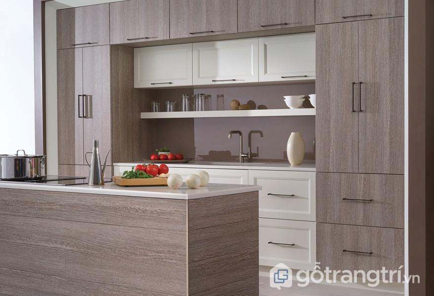 Tủ bếp laminate mang có chất lượng tốt - ảnh internet