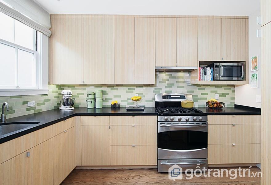 Tủ bếp laminate mang có tuổi thọ kéo dài - ảnh internet
