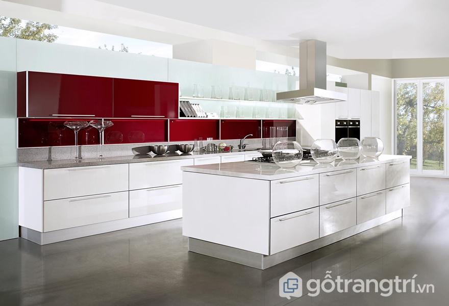 Thiết kế tủ bếp laminate đáng sở hữu năm 2019 - ảnh internet