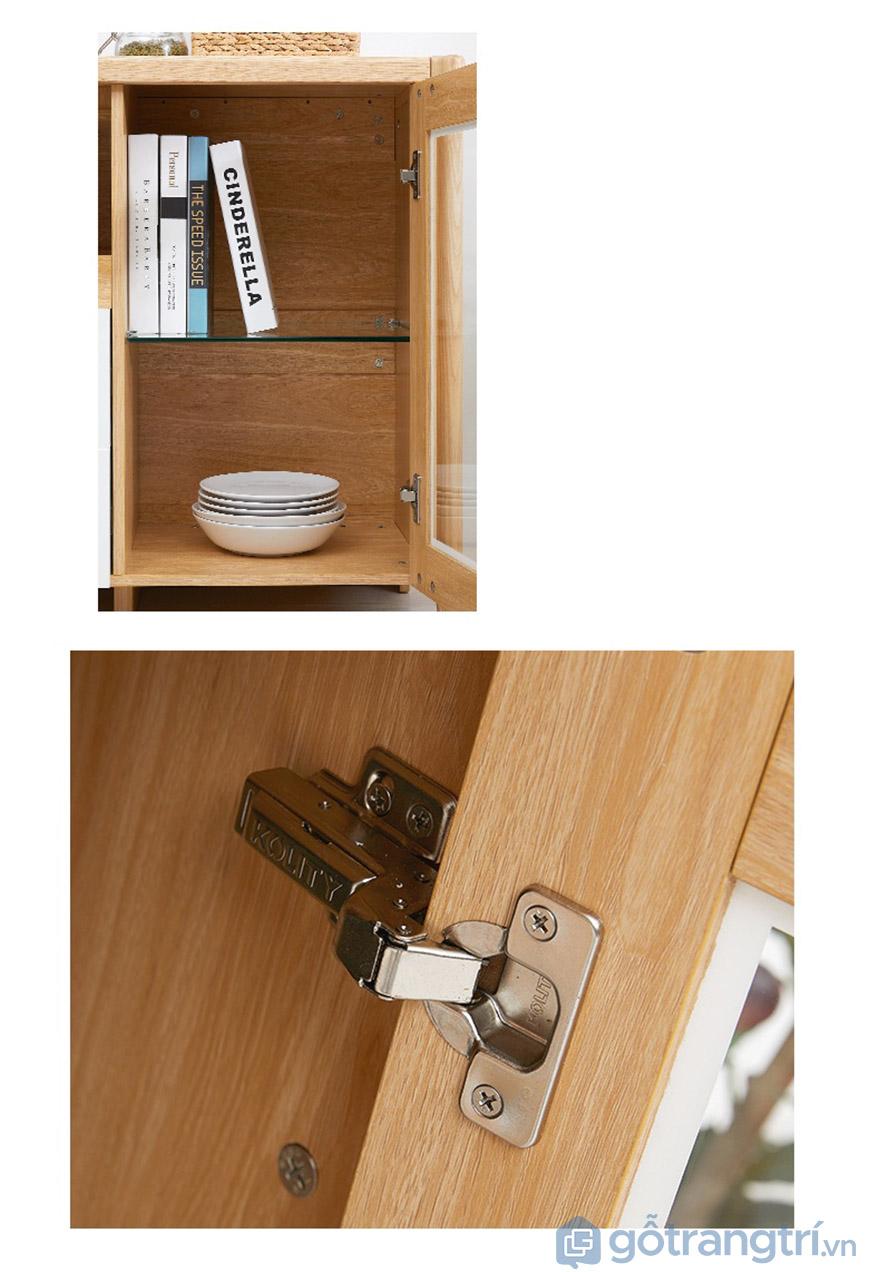Thiết kế chú trọng từng chi tiết nhỏ nhằm đảm bảo độ bền.