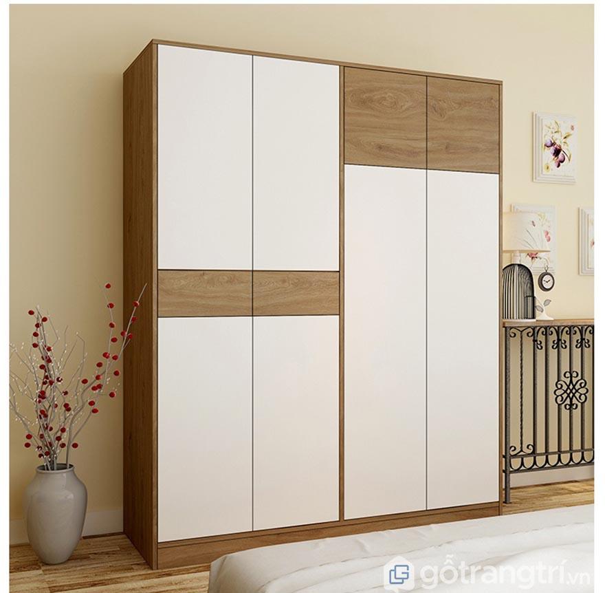 Tủ quần áo gia đình thiết kế đa năng đủ tiện nghi GHS-5696
