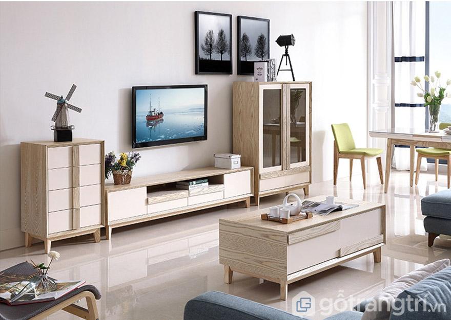 Thiết kế phù hợp nhiều không gian từ căn hộ chung cư đến biệt thự nhà phố.