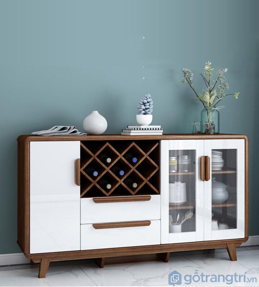 Tủ rượu phòng khách gỗ công nghiệp đẹp hiện đại GHS-5704
