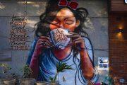Vẽ tường quán cà phê - Trào lưu chưa bao giờ hết HOT