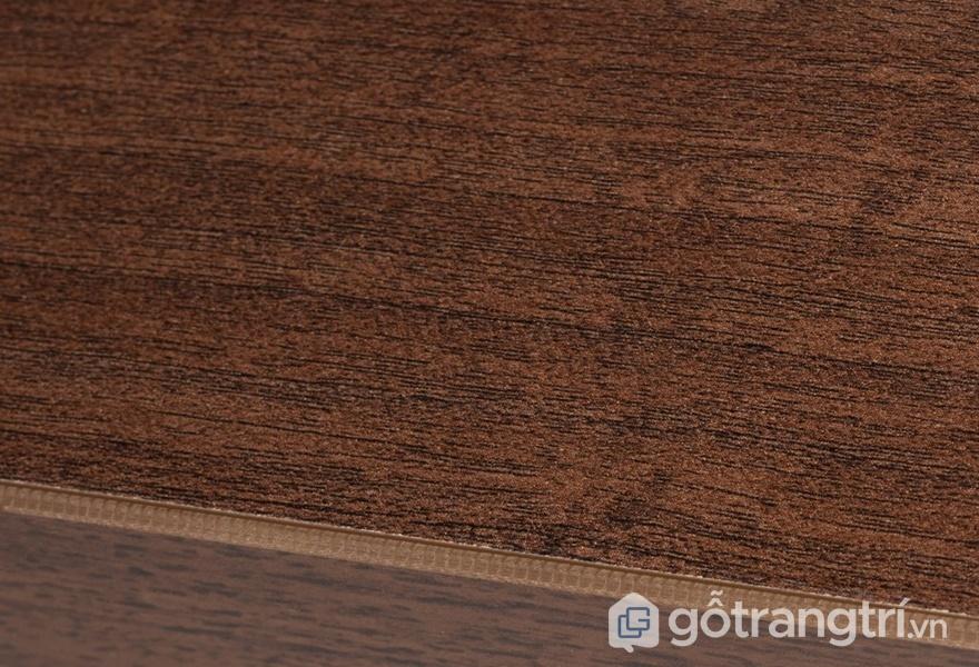Màu sắc Melamine vân gỗ óc chó - ảnh internet