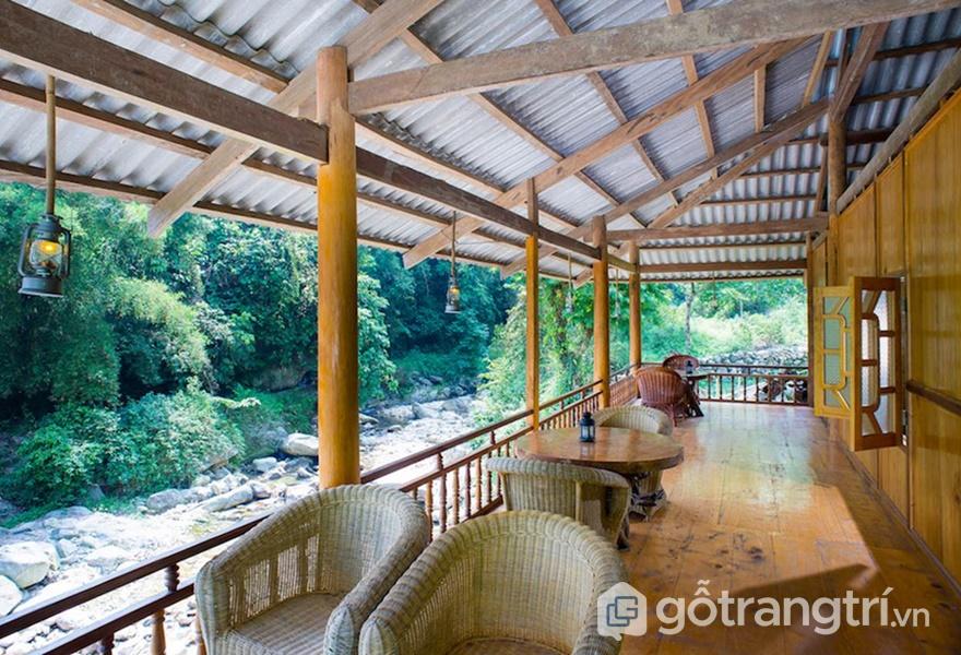 Nam Cang Riverside Lodge - ảnh internet