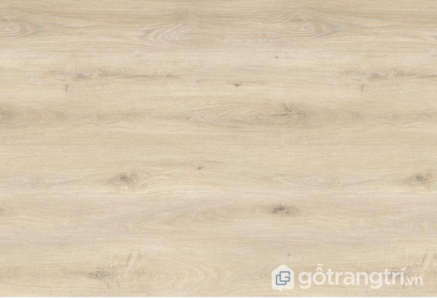Bề mặt gỗ công nghiệp phủ Melamine có màu sắc nhợt nhạt, không chân thực - ảnh internet