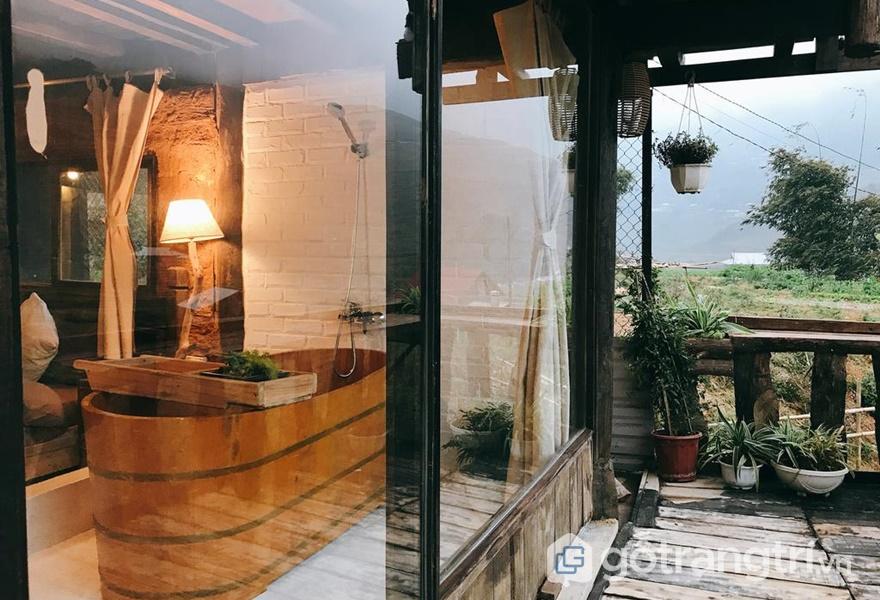 Homestay được bài trí theo phong cách share room - ảnh internet