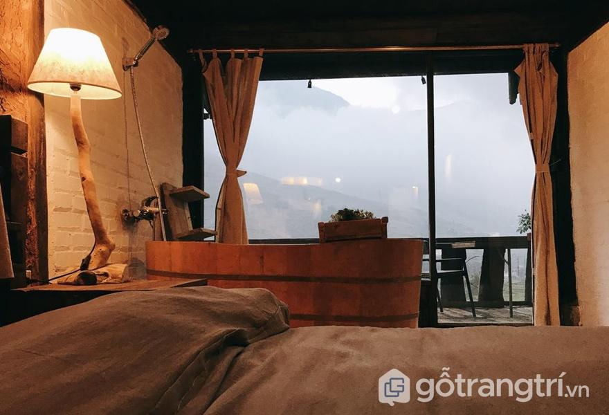Không gian phòng ngủ trong homestay - ảnh internet