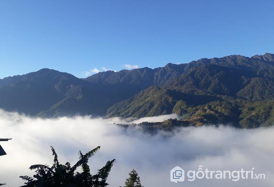 Địa điểm săn mây lí tưởng - ảnh internet