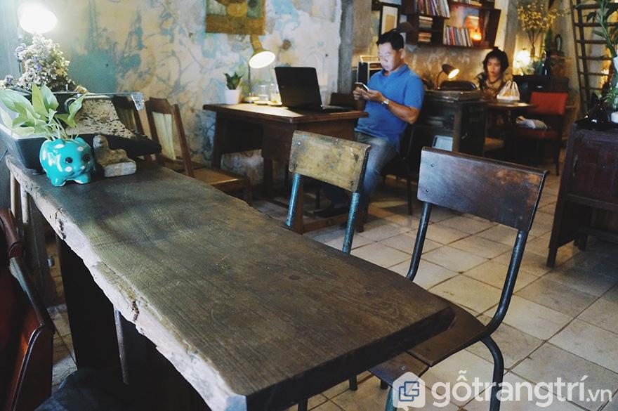 quán cà phê đẹp ở Sài Gòn
