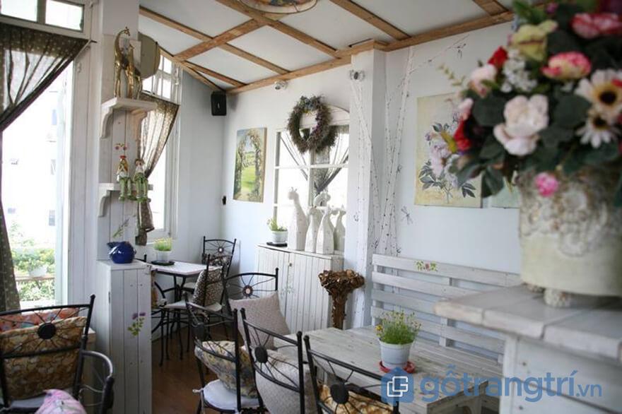 quán cà phê nhân tình ở Sài Gòn