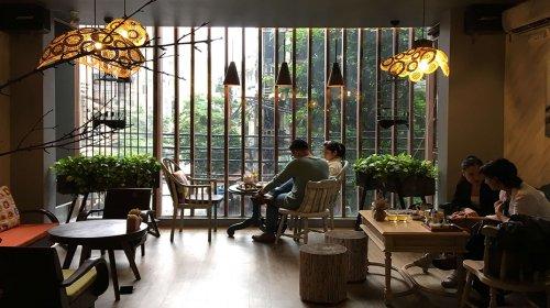 """""""Truy tìm"""" những quán cà phê đẹp ở Hà Nội"""