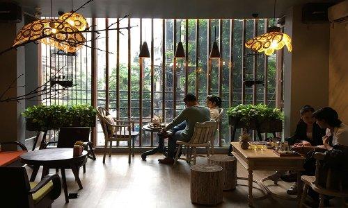 """""""Truy tìm"""" những quán cafe đẹp ở Hà Nội"""