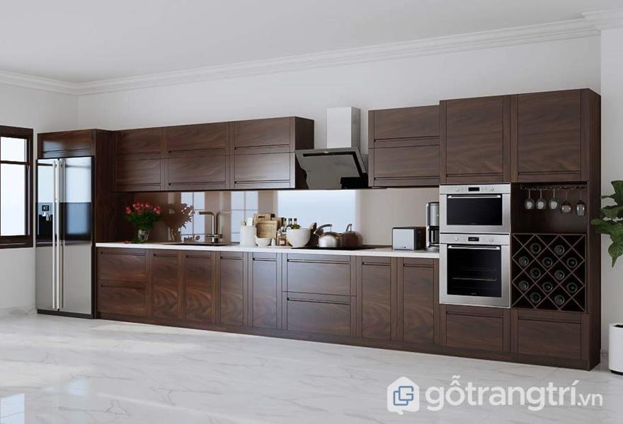 Thiết kế tủ bếp Laminate - ảnh internet
