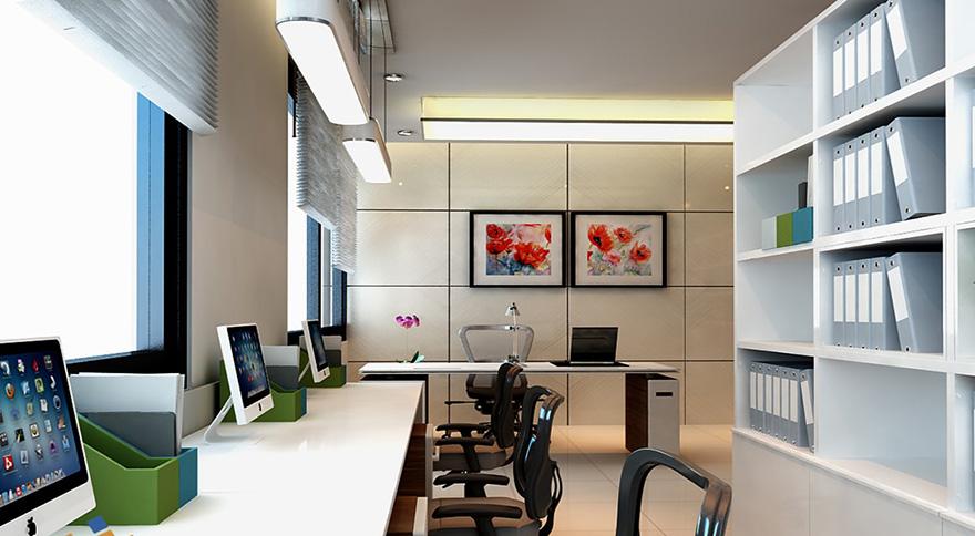 thiết kế nội thất phòng kế toán