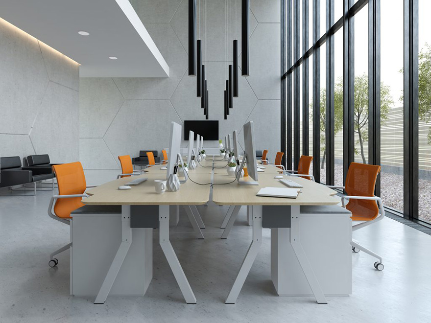 thiết kế nội thất phòng marketing