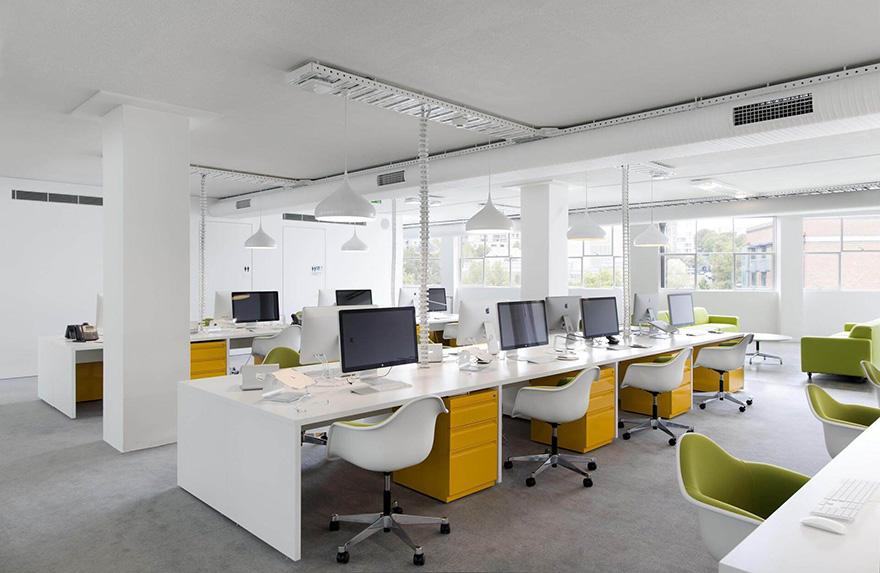 màu sắc cho thiết kế nội thất văn phòng